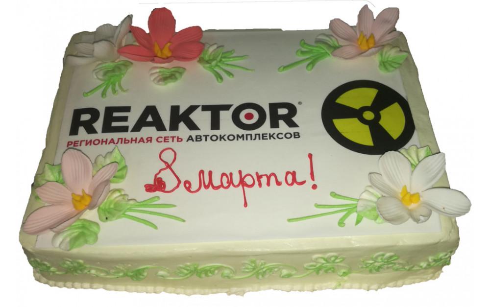 Реактор торт на 8 марта