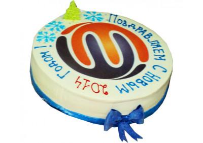 Торт к новому году