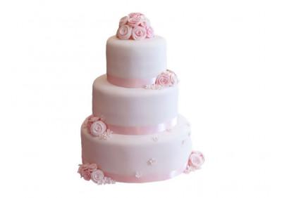 Торт с лентами