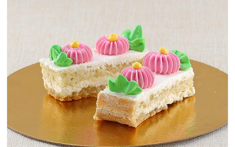 """Пирожное """"Бисквитное"""" со сливочным кремом (40 г*4 шт)"""