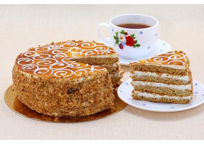 """Торт """"Медово-сметанный"""""""